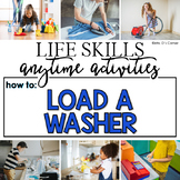 How to Load the Washer Life Skill Anytime Activity | Life Skills Activities