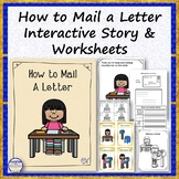 How to Mail a Letter Interactive Story, Flashcards and Worksheets