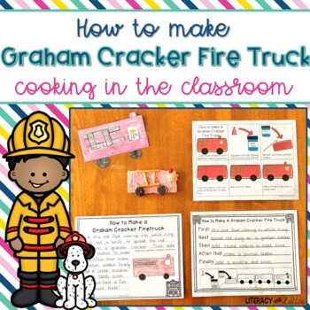 How to Make A Graham Cracker Fire Truck {cooking, how to writing and craft}