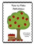 How to Make Applesauce Activity