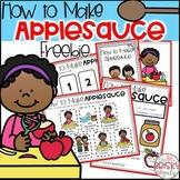 How to Make Applesauce Apple Day Activities