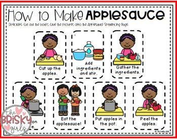 How to Make Applesauce Apple Day Activities