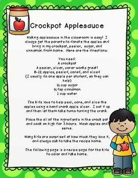 How to Make Applesauce Book