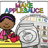 How to Make Applesauce {Flipbook & Sequencing Cards}