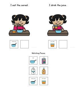 How to Make Breakfast: A Social Story Adapted Book for Students with Autism
