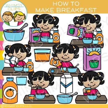 How to Make Breakfast Clip Art