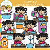 How to Make Breakfast Clip Art