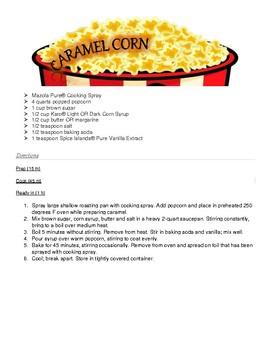 How to Make Carmel Corn