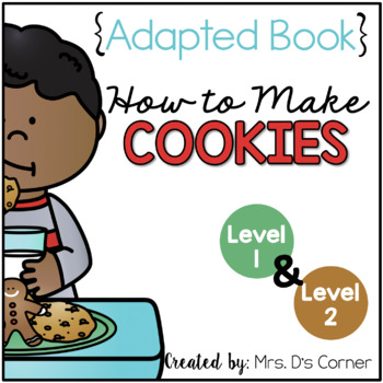 How to Make Cookies Adapted Books { Level 1 and Level 2 } Visual Recipe