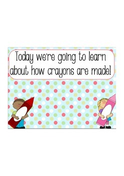 How to Make Crayons: Resources