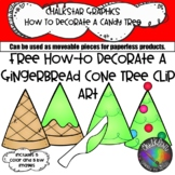 How to Make a Cone Christmas Tree Clip Art- Chalkstar Graphics