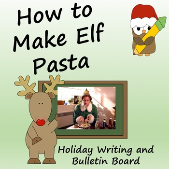 How to Make Elf Pasta Christmas or Holiday Writing