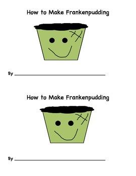 How to Make Frankenpudding Easy Reader