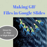 How to Make GIF files Animation Lesson for Middle School S