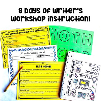 How to Make Hot Chocolate: A Winter Writer's Workshop