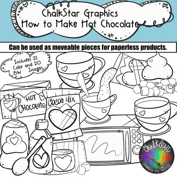 How to Make Hot Chocolate Clip Art
