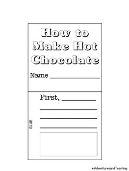 How to Make Hot Chocolate Flipbook Craftivity