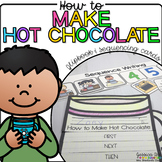 How to Make Hot Chocolate {Flipbook & Sequencing Cards}
