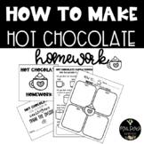 How to Make Hot Chocolate Homework Freebie