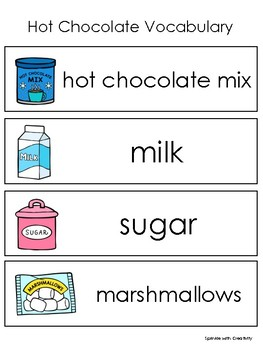 How to Make Hot Chocolate Sequencing Activity Ontario Curriculum