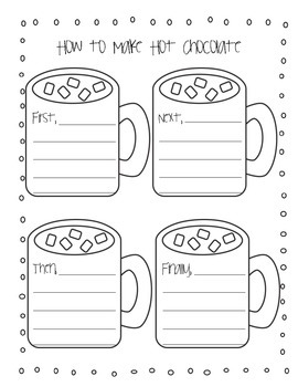 How to Make Hot Chocolate Writing Activities