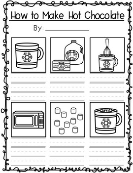 How to Make Hot Chocolate!!! Writing Activity