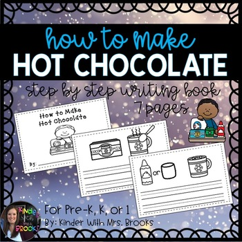How to Make Hot Chocolate Writing Book