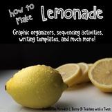 How to Make Lemonade-Writing Printables and Craftivity