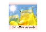How to Make Lemonade (Adapted Book)