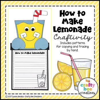 How to Make Lemonade Craftivity