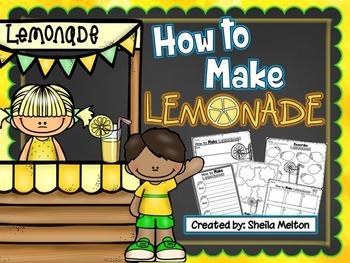 How to Make Lemonade Writing