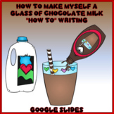 How to Make Myself a Glass of Chocolate Milk Procedural Writing