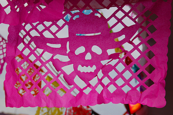 How to Make Papel Picado (Day of the Dead, Halloween, Cinc