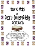 How to Make Peanut Butter & Jelly Informational {Differentiated} Writing