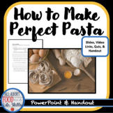 How to Make Perfect Pasta Lesson