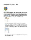 How to Make Pie Graphs/Line Graphs in Excel
