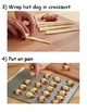VISUAL RECIPE: How to Make Pigs in a Blanket (Life Skills Lesson)