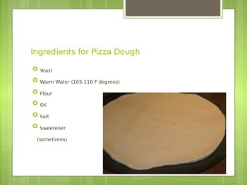 How to Make Pizza Dough Power Point