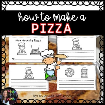 How to Make Pizza Writing Book