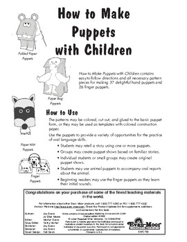 How to Make Puppets with Children