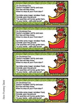 How to Make Reindeer Food (Procedural Writing)