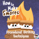 How to Make S'mores Procedural Writing PowerPoint