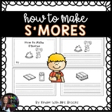 How to Make S'mores Writing Book