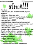How to Make Slime Lab