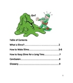 How to Make Slime NF book