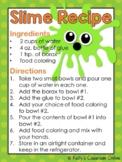 How to Make Slime Recipe