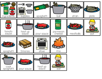 How to Make Spaghetti Adapted Books { Level 1 and Level 2 }