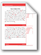 How to Make Stilts (Gr. 4/Week 36)