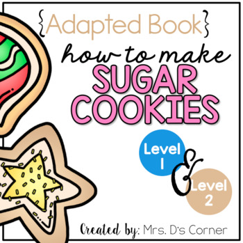 How to Make Sugar Cookies Adapted Books [Level 1 and Level 2] | Making Cookies
