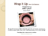 How to Make Yarn Wrapped Coil Baskets Slide Show